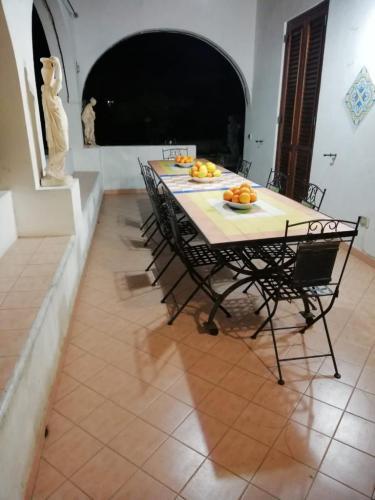 Tavolo esterno in terrazzo/giardino