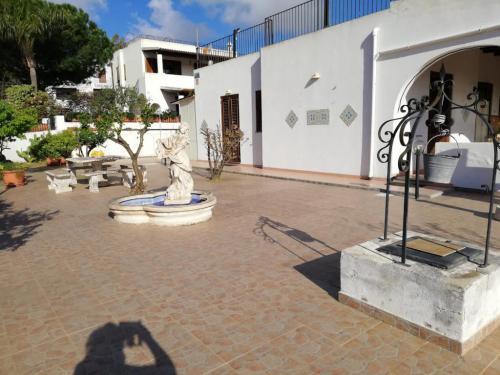 terrazzo d'ingresso